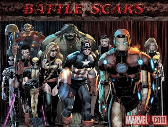 The Difference Between The Marvel Battle Scars Images
