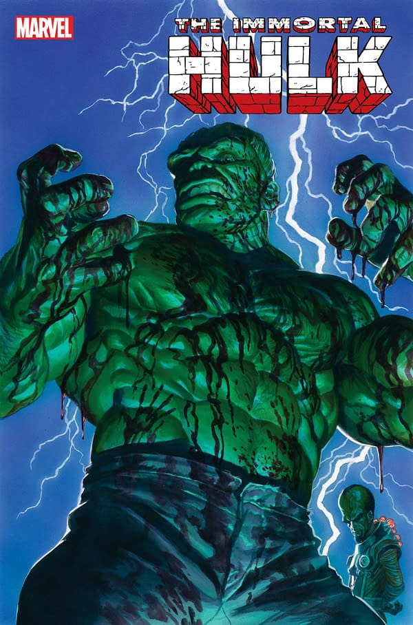 """A """"Happy Ending"""" for The Immortal Hulk in May? Or an Even Happier Relaunch?"""