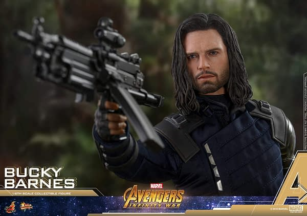 Bucky Barnes Infinity War Hot Toys 15