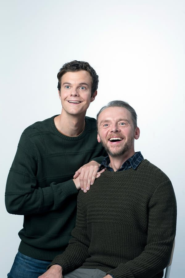 Simon Pegg, The Inspiration For Wee Hughie in The Boys, Will Play His Father