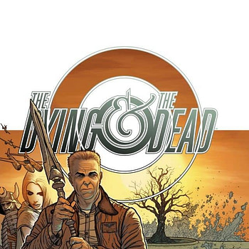 The cover to The Dying and the Dead #1 by Jonathan Hickman and Ryan Bodenheim.