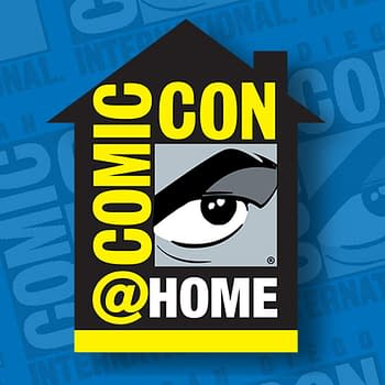The logo for Comic-Con@Home 2020