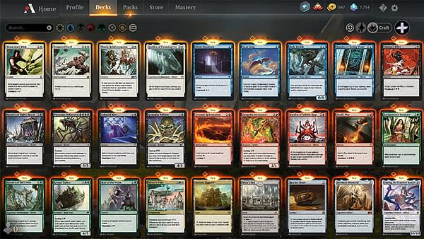 The list of cards that are coming to Magic: The Gathering: Arena through the third Historic Anthology.