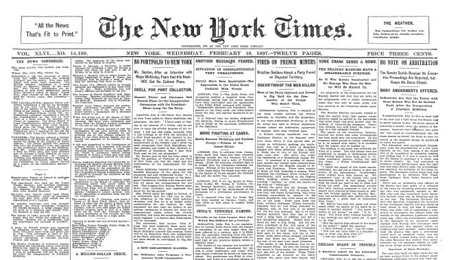 new-york-times-front-page-february-10-1897