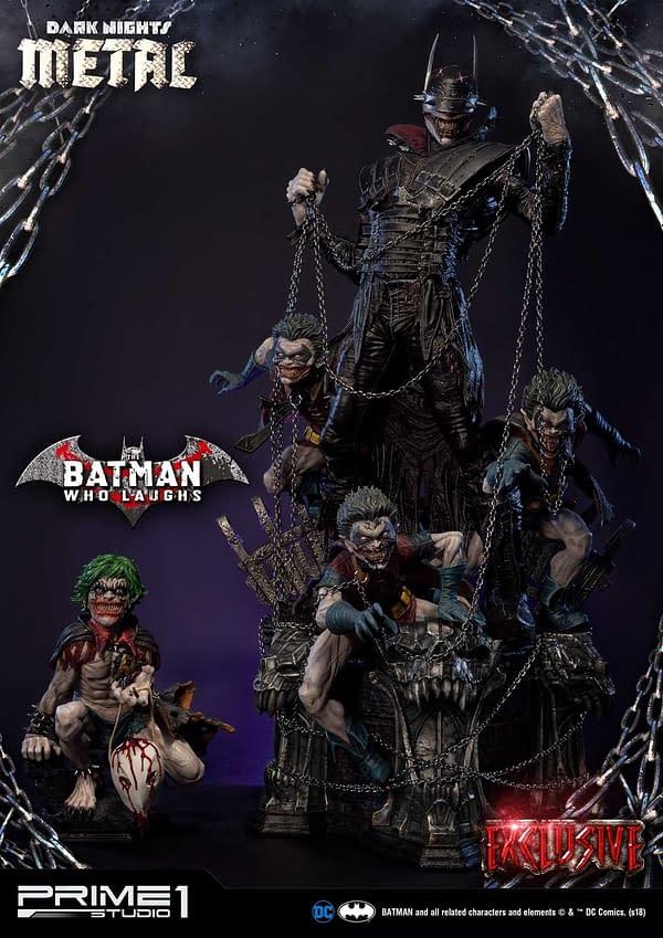 Dark Knights Metal Batman Who Laughs Prime 1 Studio Statue Exclusive 1