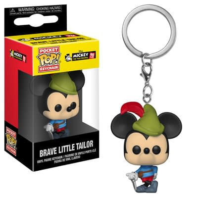 Funko Disney Mickey Mouse Pop Keychain 1