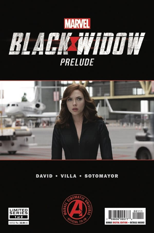 Marvel's Black Widow Prelude #1 [Preview]