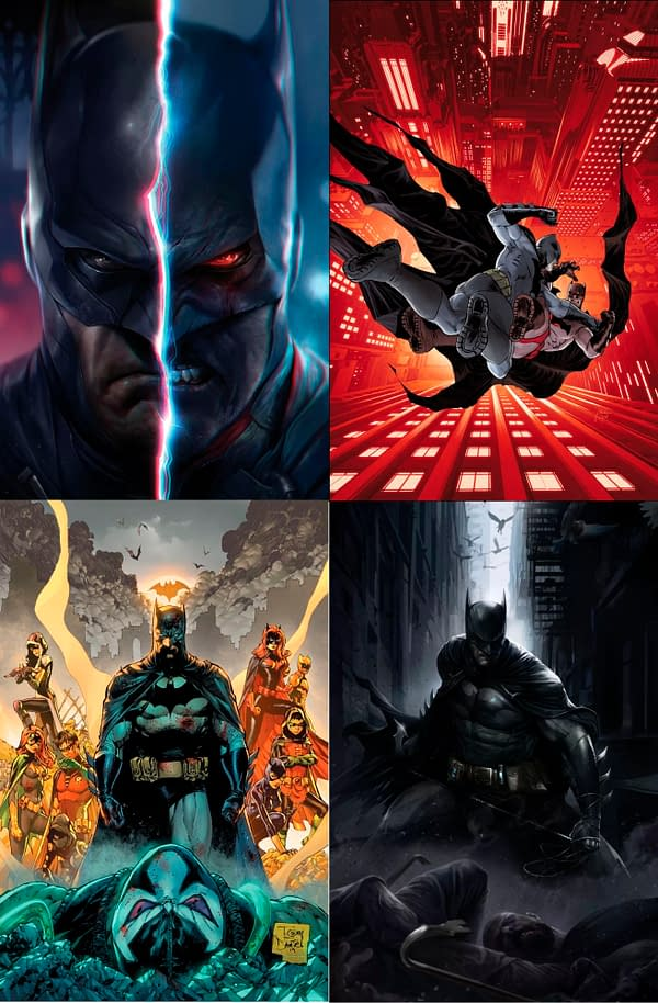 Tom King's Final Issues Of Batman in December
