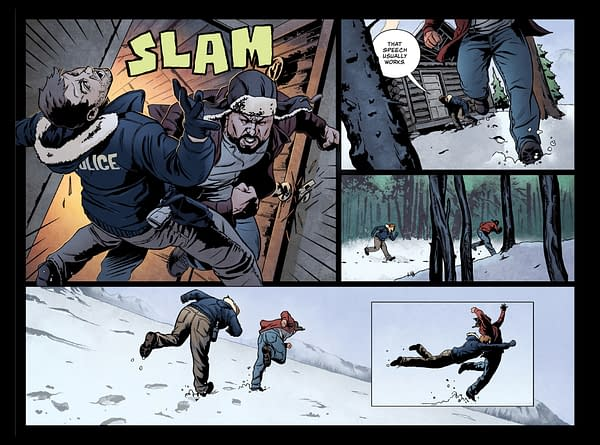 A New Pay-What-You-Want Comic from Panel Syndicate: Glacier City by Jay Faerber and Michael Montenat