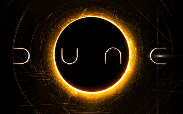 The official logo for the 2020 adaptation of Dune.