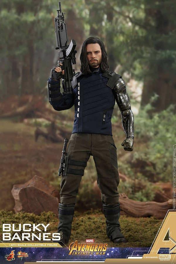 Bucky Barnes Infinity War Hot Toys 8