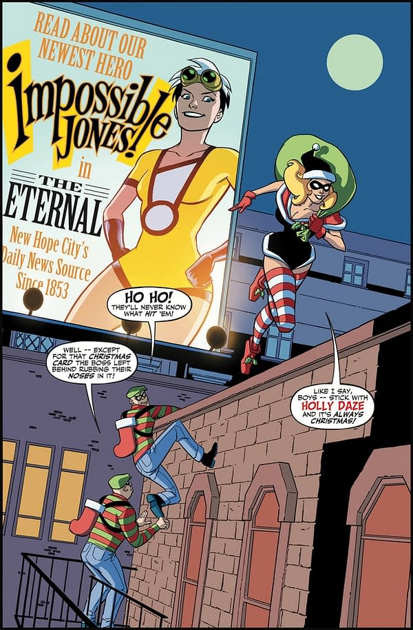 Harley Quinn-Like 'Grin And Gritty' Impossible Jones by Karl Kesel and David Hahn Seeks Funding