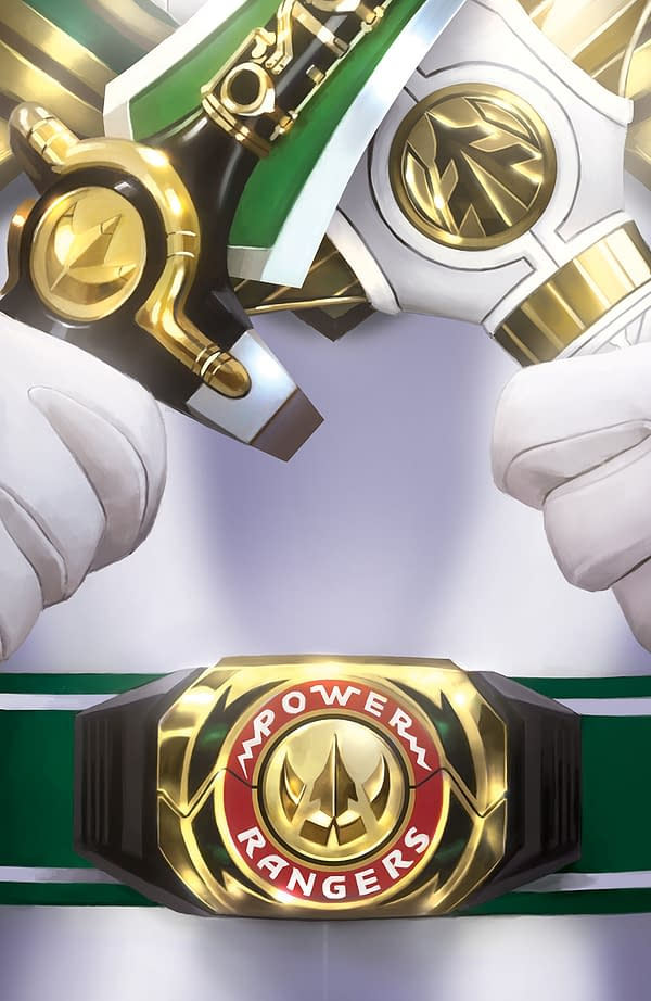 Power Rangers and Labyrinth Exclusive Covers from Boom! Studios at ComicsPro Tomorrow