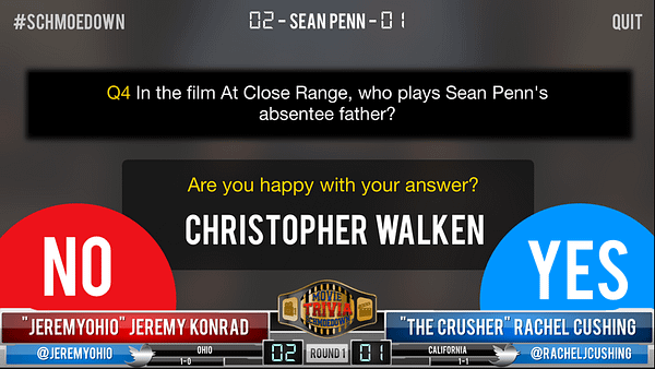 Movie Trivia Schmoedown App 10