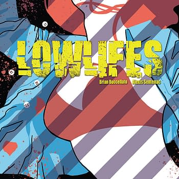 Lowlifes #1 cover by Brian Buccellato