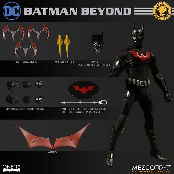 Batman Beyond One 12 Collective Figure Exclusive 14