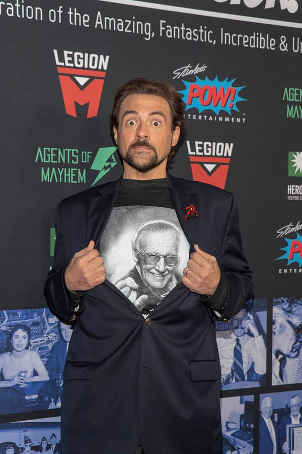 There is a 'Jay and Silent Bob Reboot' Stan Lee Tribute (of Course)