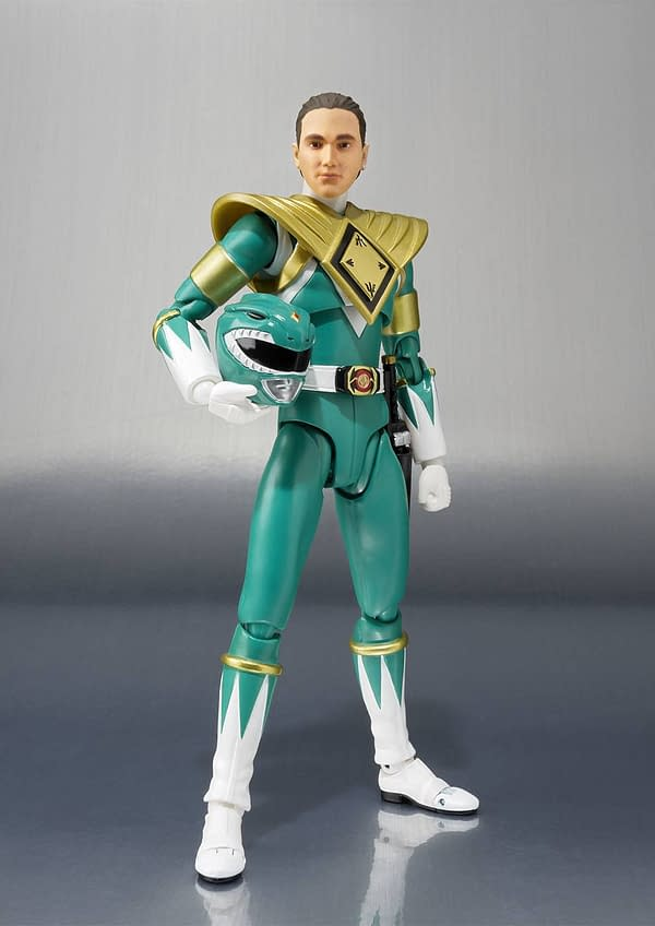 Bandai Tamashii Nations Green Power Ranger SDCC