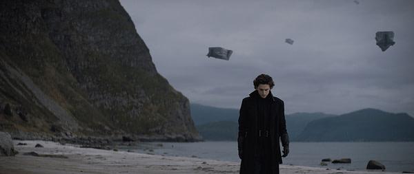 Cette première image de Dune présente Timothée Chalamet dans le rôle de Paul Atridies.