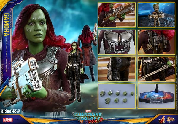 Hot Toys Guardians Vol. 2 Gamora 12