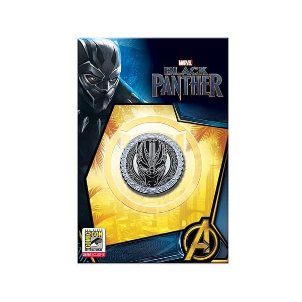 Black Panther Wakanda Forever Pin SDCC