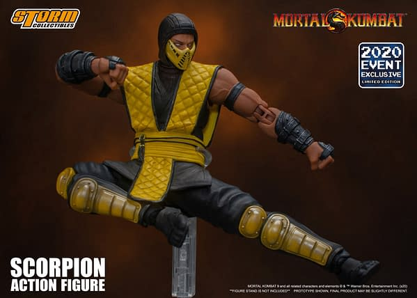 Mortal Kombat Gets SDCC 2020 Exclusives With Storm Collectibles