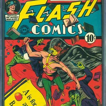 Flash Comics 43, 7/1943, DC Comics.