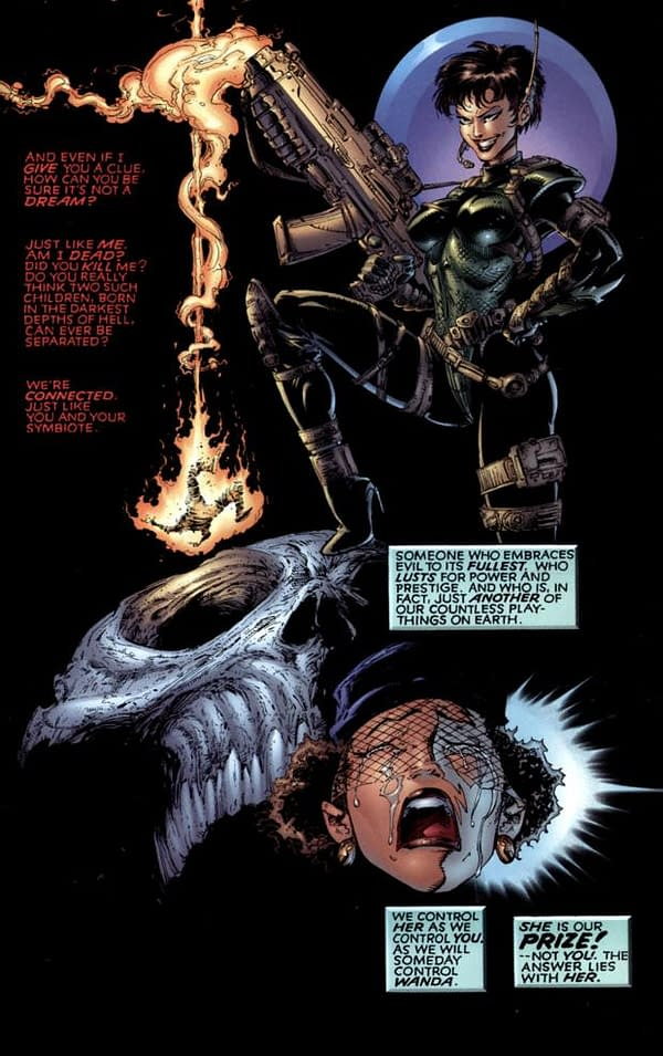 J Scott Campbell and Todd McFarlane Recreate Jessica Priest in Spawn #300 (Spoilers)