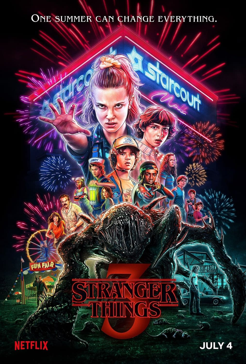 """""""Stranger Things 3"""": David Harbour & """"Magnum P.I."""" – The """"Passing of the 'Stache"""" We Need in Our Lives [VIDEO]"""