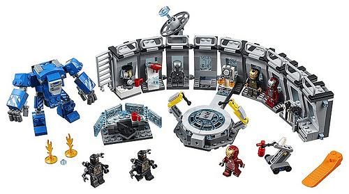 LEGO Avengers Endgame Iron Man Hall of Armor 2