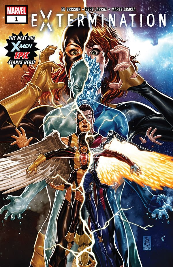 Extermination #1 cover by Mark Brooks