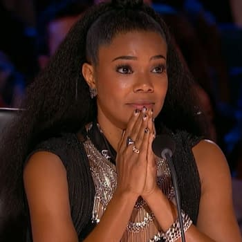 Gabrielle Union on America's Got Talent (Image: NBCU).