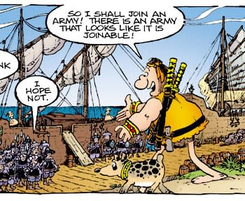 The Mark Sergio Stan And Tom Show SDCC Panel: Fancy Volumes On The Way For Groo