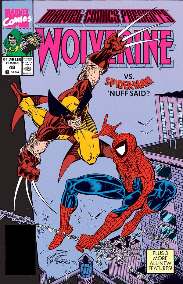 Erik Larsen Says Colorist Who Poorly Recolored Marvel Comics Presents #48 Cover Should Be Killed With a Shovel