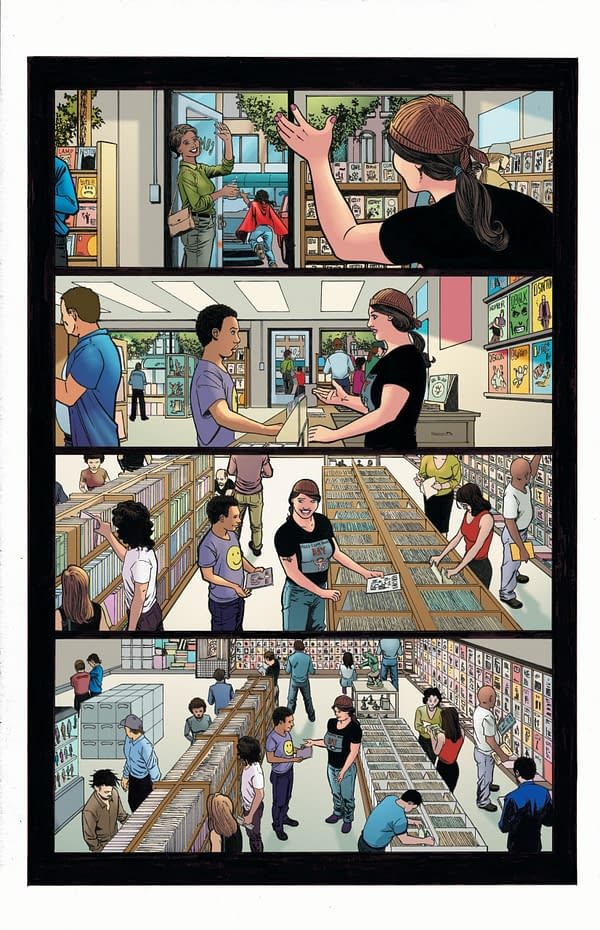 """AfterShock Comics Release SOS """"Support Our Shops"""" Comic."""
