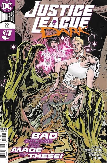 Justice League Dark #22 Main Cover