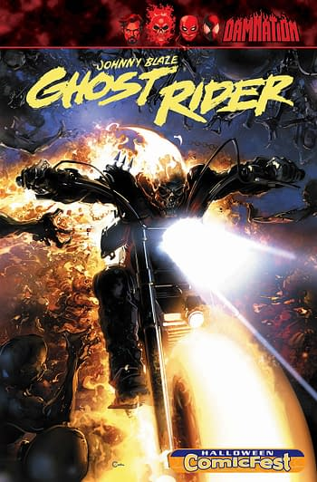Marvel Comics Launching New Johnny Blaze Ghost Rider Comic in October