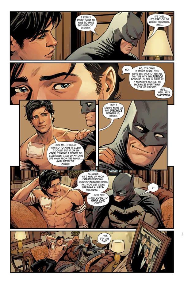 Superman Will Be Batman's Best Man at His Wedding