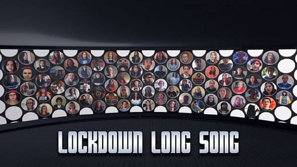 Here's a look at the key art for the Doctor Who Lockdown song, courtesy of Doctor Who Lockdown.