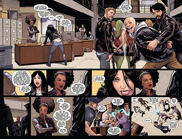 Defenders #9 art by David Marquez and Justin Ponsor