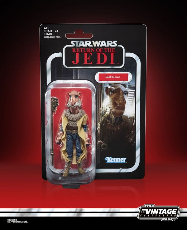 Star Wars The Vintage Collection Yakface Figure - in pck