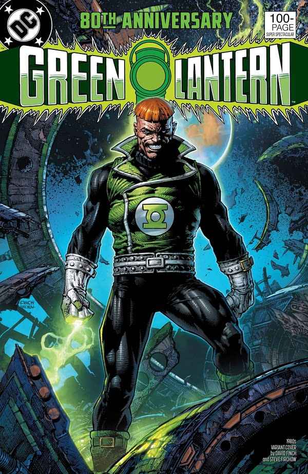 Green Lantern 80th Anniversary Special #1 1980's Variant Cover