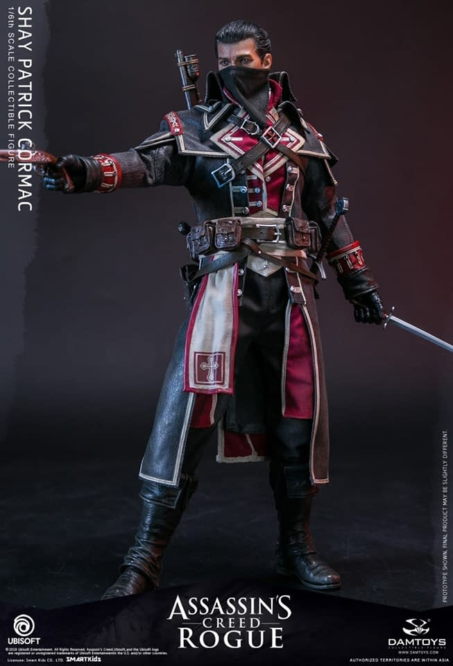 Assassins Creed Rogue gets the Collectible Treatment by DAMTOYS