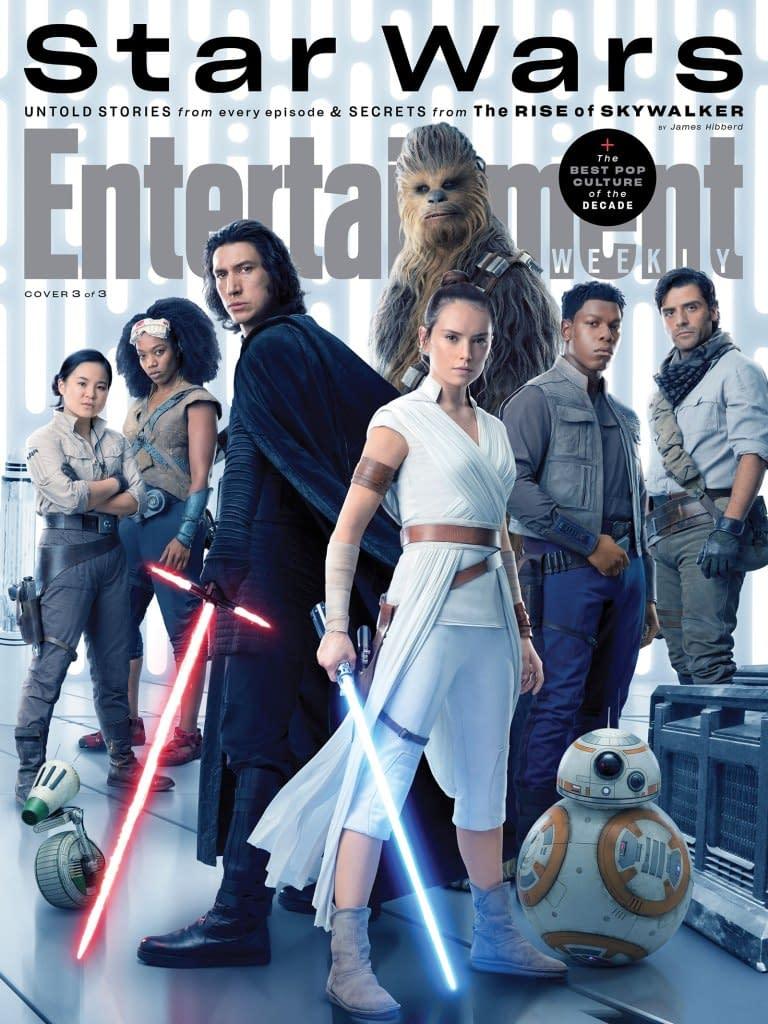 """Star Wars"": 3 New EW Covers Highlight the Entire Skywalker Saga"