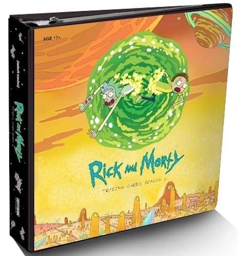 Rick and Morty Tading Cards Season 1 Binder