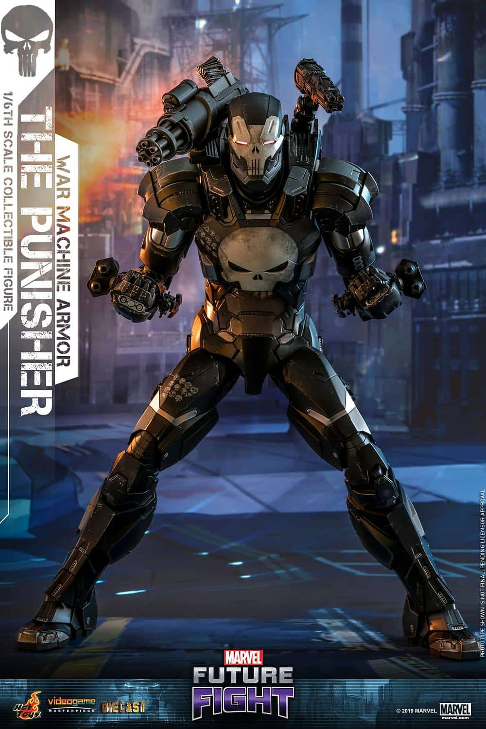 Marvel Future Fight War Machine Punisher 4