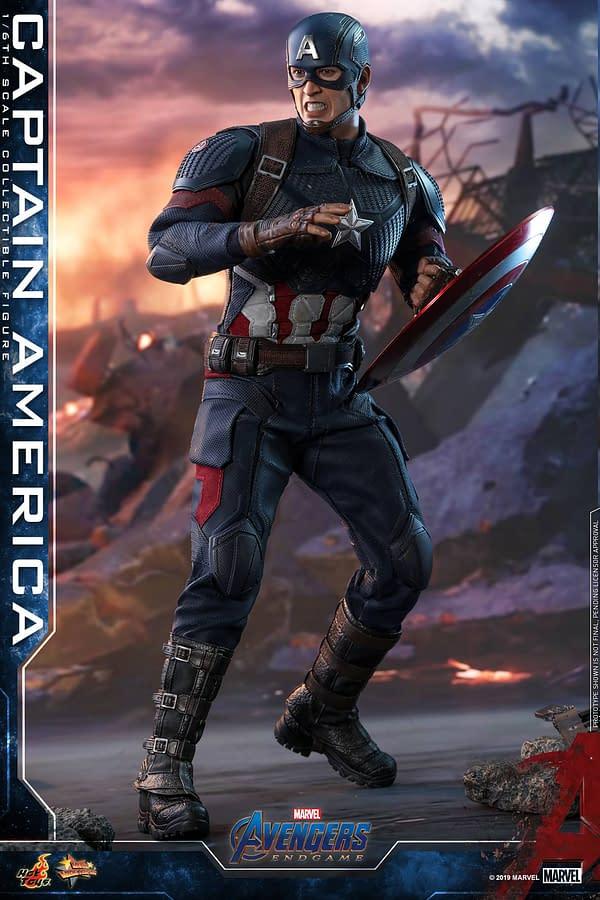 Avengers: Endgame Hot Toys of Black Widow, Captain America Up For Order