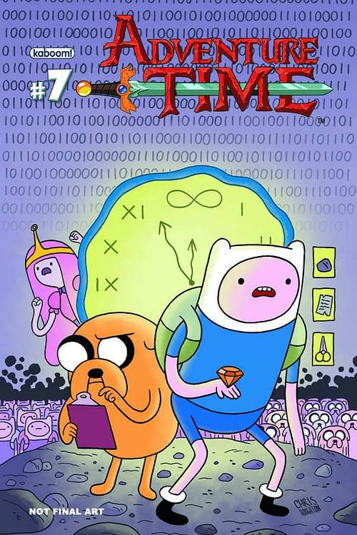 The Covers Of Adventure Time In August
