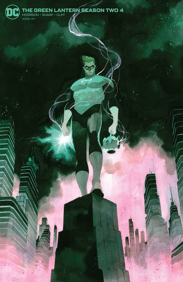 The Green Lantern Season Two #4 Variant Cover