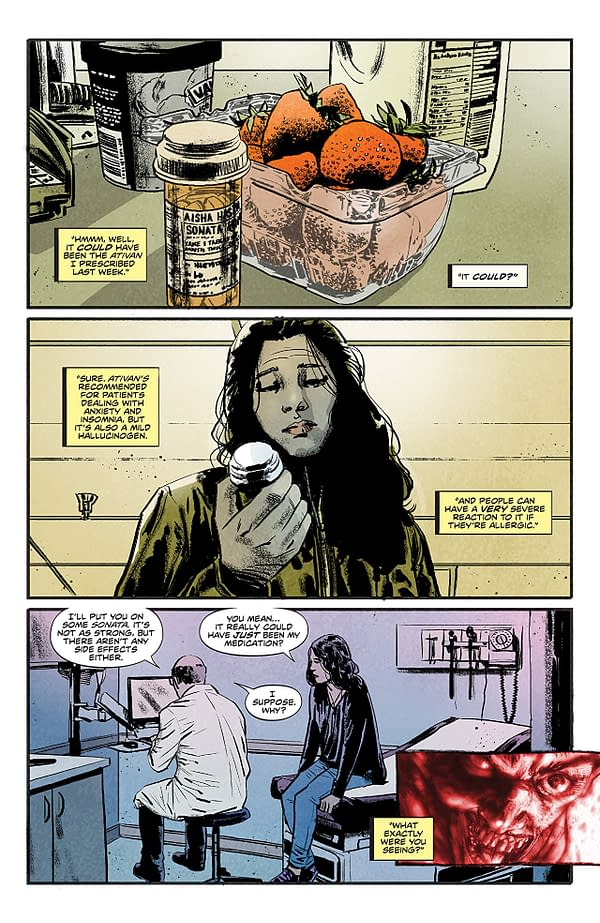 Infidel #2 art by Aaron Campbell and Jose Villarrubia